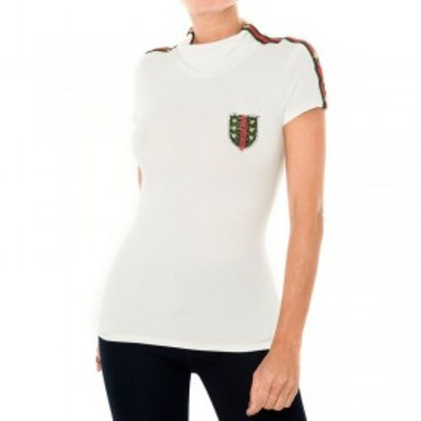 Oferta de Camiseta Burda Viscosa Natural por $31000