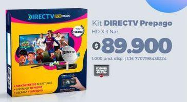 Oferta de Kit direct tv por $89900