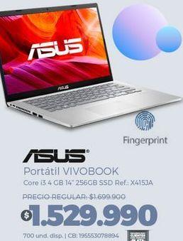 Oferta de Computador Portátil Asus por $1529990