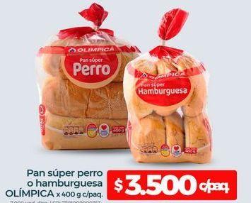 Oferta de Pan de hamburguesa Olimpica por $3500