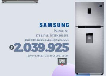 Oferta de Heladera Samsung por $2039925