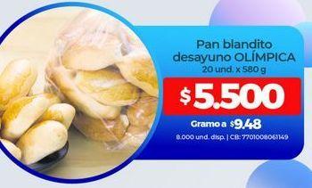 Oferta de Panadería Olimpica por $5500