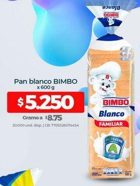 Oferta de Pan tajado Bimbo por $5250