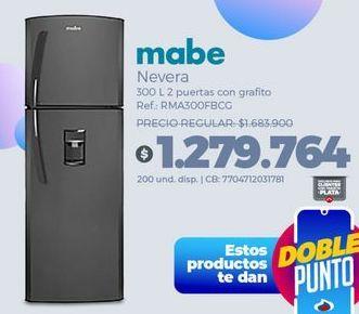 Oferta de Heladera Mabe por $1279764