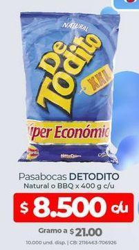 Oferta de Pasabocas De Todito por $8500