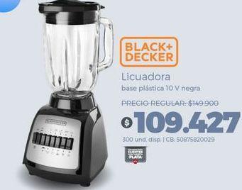 Oferta de Licuadora Black & Decker por $109427