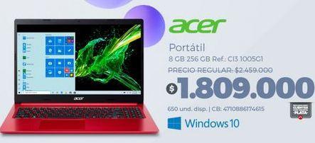 Oferta de Computador Portátil Acer por $1809000