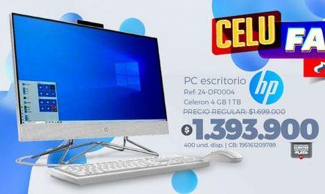 Oferta de Computador de mesa HP por $1393900