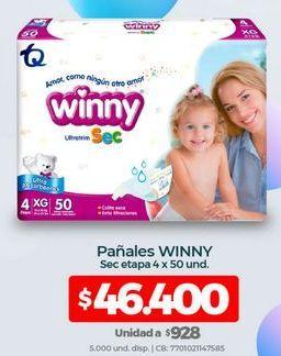 Oferta de Pañales Winny por $46400