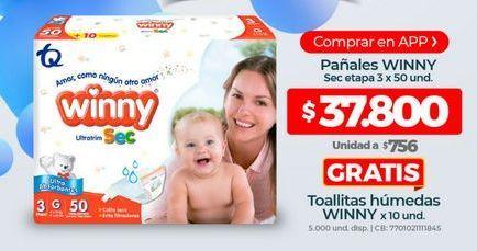 Oferta de Pañales Winny por $37800