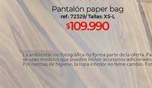 Oferta de Pantalones paper bag  por $109990