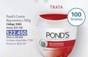 Oferta de Crema hidratante facial Pond's por $22450