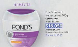 Oferta de Crema hidratante facial Pond's por $16050