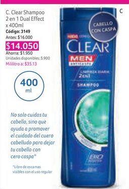 Oferta de Shampoo Clear por $14050