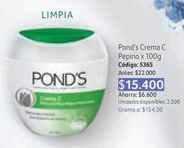 Oferta de Limpiador facial Pond's por $15400