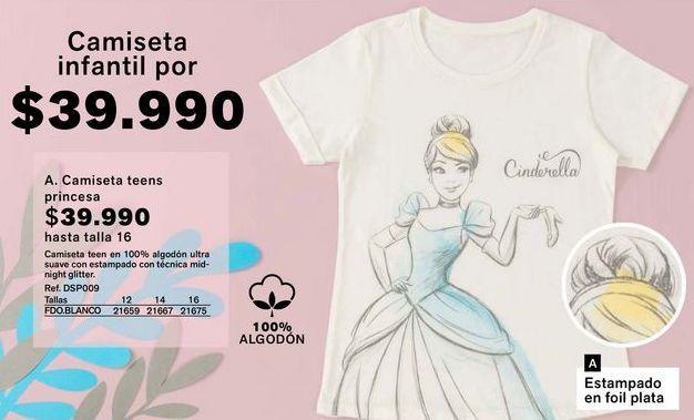 Oferta de Camiseta niña por $39990