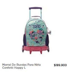 Oferta de Morral con ruedas Totto por $189900
