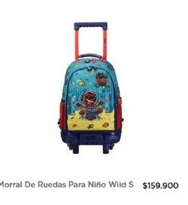 Oferta de Morral con ruedas Totto por $159900