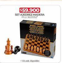 Oferta de Ajedrez por $59900