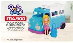 Oferta de Muñecas Polly Pocket Polly Pocket por $114900