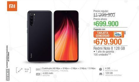 Oferta de Celulares Xiaomi por $699900