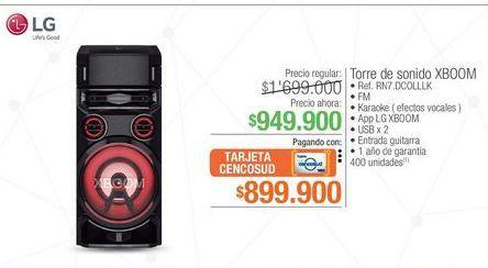 Oferta de Equipo de sonido LG por $949900