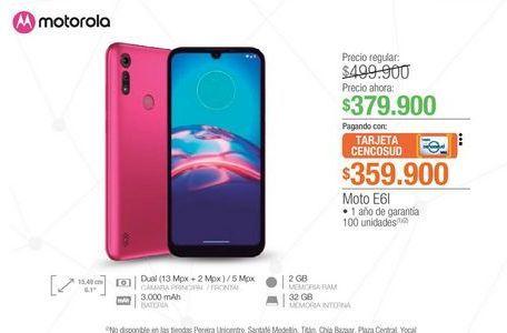 Oferta de Celulares Motorola por $379900