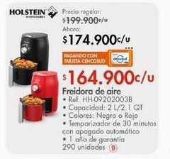 Oferta de Freidora eléctrica Holstein por $174900