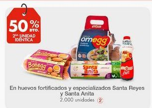 Oferta de Huevos Santa Reyes por