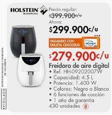 Oferta de Freidora eléctrica Holstein por $299900