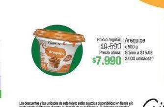 Oferta de Arequipe x 500g  por $7990