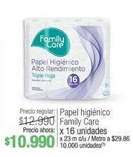 Oferta de Papel higiénico Family care x 16 unidades  por $10990