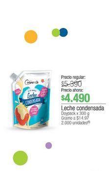 Oferta de Leche condensada 300g por $4490