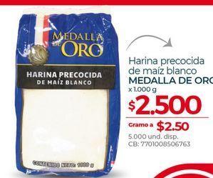 Oferta de Harina precocida maiz blanco 1000g Medalla de oro por $2500