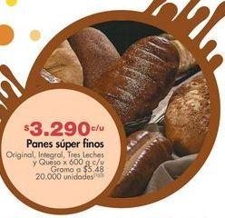 Oferta de Panes super finos por $3290
