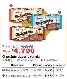 Oferta de Chocolate Cuisine & Co por $4790