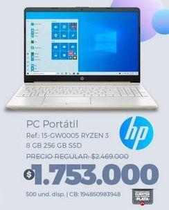 Oferta de Computador Portátil HP por $1753000