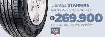 Oferta de Llantas Starfire por $269900