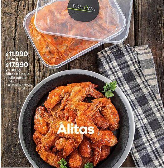 Oferta de Alas de pollo barbacoa Pomona por $17990