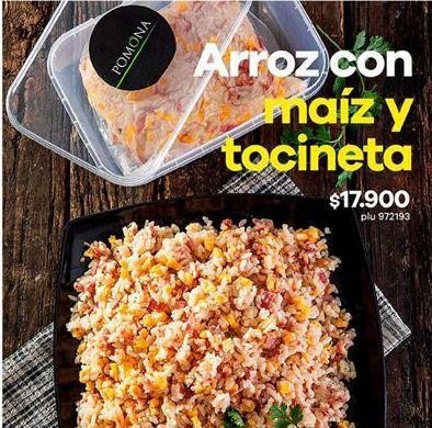 Oferta de Arroz con maiz y tocineta Pomona por $17900