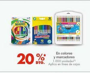 Oferta de En colores y marcadores por
