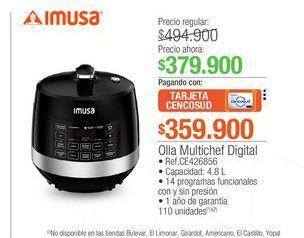 Oferta de Olla multichef digital Imusa por $379900