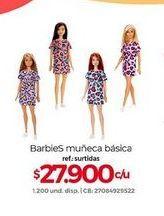 Oferta de Muñecas Barbie Barbie por $27900