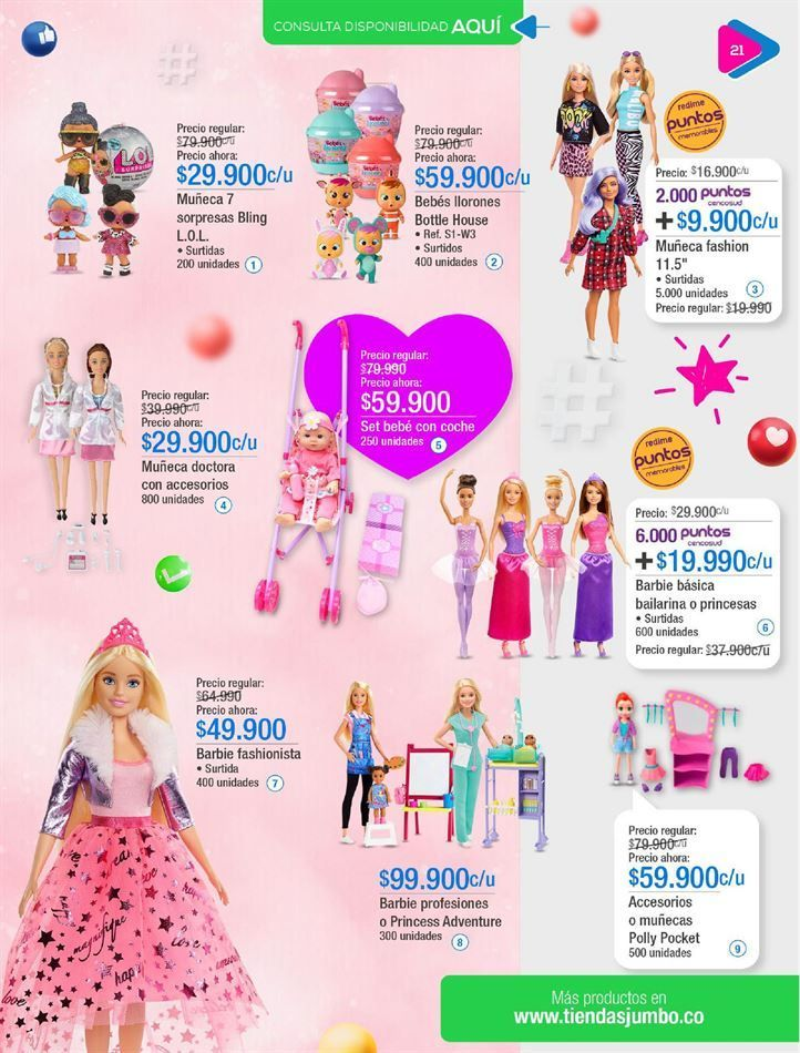 Oferta de Muñecas Polly Pocket por