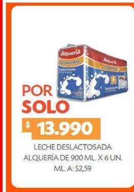 Oferta de Leche deslactosada Alquería 900ml x 6un  por $13990