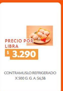 Oferta de Contramuslos refrigerado x 500g por $3290
