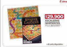 Oferta de Escaleras serpientes  por $29900