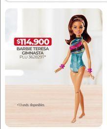 Oferta de Barbie teresa gimnasta  por $114900