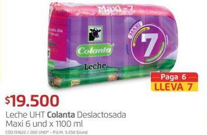 Oferta de Leche deslactosada Colanta por $19500