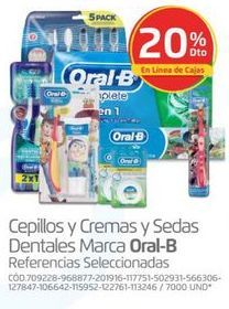 Oferta de Higiene bucal Oral B por